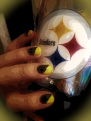 My Steeler Nails!